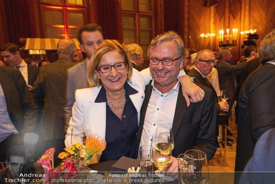 Johanna Mikl-Leitner mit Alexander Wrabetz