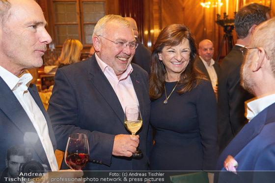 Alfred Gusenbauer mit Susanne Riess