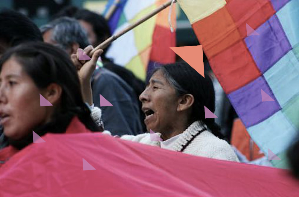 Demo Bolivien