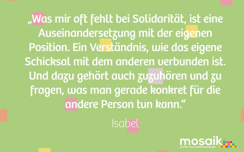 Zitat Isabel 2