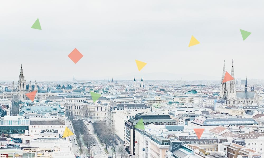 Wien mit Kirchen